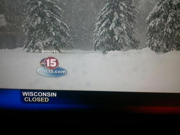 WI Closed
